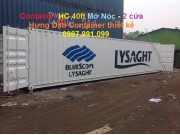 Container opentop HC 40ft