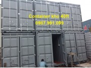 container kho chất lượng