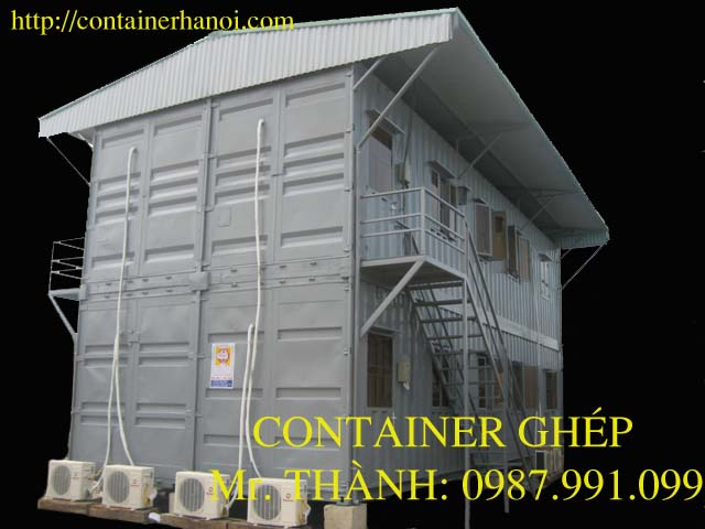 container ghép chồng tầng